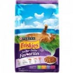 Friskies Surfin' & Turfin' Favourites ชนิดเม็ด สำหรับแมวโต รสปลาทูน่าและปลาซาร์ดีน 1.2 kg