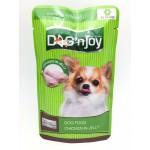 ด็อก เอ็นจอย Dog 'n Joy อาหารเปียกสำหรับสุนัข ไก่ในเยลลี่ 120 กรัม