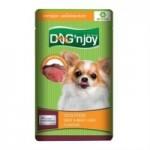 ด็อก เอ็นจอย Dog 'n Joy อาหารเปียกสำหรับสุนัข รสเนื้อวัวและตับวัว 120 กรัม