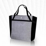 Lancome Carrying Arm Bag #Black & Gray (Big)