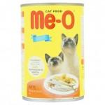 Me-O Mackerel ชนิดเปียก สำหรับแมว รสปลาทู 400 กรัม
