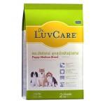 Dr. LuvCare ชนิดเม็ด สำหรับลูกสุนัขพันธุ์กลาง 2 kg
