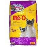 Me-O ชนิดเม็ด สำหรับแมวโต รสซีฟู้ด 7 kg