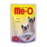 Me-O Tuna ชนิดเปียก สำหรับแมว รสปลาทูน่า 80 กรัม