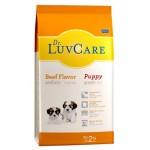 Dr. Luvcare ชนิดเม็ด สำหรับลูกสุนัข รสเนื้อวัว 2 kg
