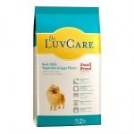 Dr. LuvCare ชนิดเม็ด สำหรับสุนัขโตพันธุ์เล็ก รสเนื้อ นม ผักและไข่ 2 kg