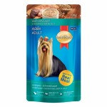 SmartHeart ชนิดเปียก สำหรับสุนัขโต รสเนื้อไก่และตับในเยลลี่ 130 กรัม