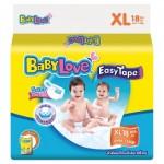 เบบี้เลิฟ Baby Love Easy Tape ไซส์ XL ห่อ 18 ชิ้น