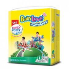 เบบี้เลิฟ Baby Love Play Pants Nano power Plus ไซส์ L ห่อ 54 ชิ้น
