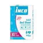 อินโก้ Inco แผ่นยางปูกันเปื้อนสำหรับผู้ใหญ่ Size XL ขนาด 80x120 cm.