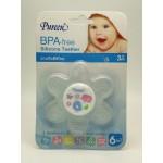 เพียวรีน Pureen ยางกัดซิลิโคน BPA-FREE สำหรับเด็กอายุ 3 เดือนขึ้นไป