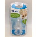 เพียวรีน Pureen จุกนมยางซิลิคอน Anti-Colic ไซส์ L สำหรับ 6 เดือน+