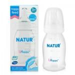 เนเจอร์ Natur ขวดนม  UHappy 4 oz. ไซส์M สำหรับ 3 เดือนขึ้นไป