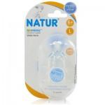 เนเจอร์ Natur จุกนมBiominic คอกว้าง ไซส์ L แพ็คคู่ สำหรับ 6 เดือน+