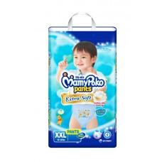 มามี่โพโค Mamy Poko Pants Extra Soft  ไซส์ XXL สำหรับเด็กผู้ชาย ห่อ 10 ชิ้น (กางเกง)