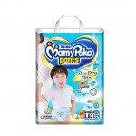 มามี่โพโค Mamy Poko Pants Extra Dry Skin Boys ไซส์ L สำหรับเด็กผู้ชาย ห่อ 62 ชิ้น (กางเกง)