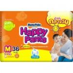 มามี่โพโค Mamy Poko Happy Pants ไซส์ M ห่อ 36 ชิ้น (กางเกง)