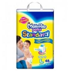 มามี่โพโค Mamy Poko Pants Standard  ไซส์ L ห่อ 54 ชิ้น (กางเกง)