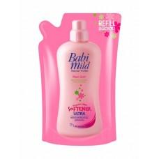 เบบี้มายด์ Babi mild ผลิตภัณฑ์ปรับผ้านุ่มสำหรับทารก สูตรเข้มข้น กลิ่นพิงค์กี้ ซอฟท์ 500 มล.