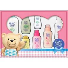 เบบี้มายด์ Babi mild ชุดของขวัญ กล่องใหญ่ หมีมายด์สีชมพู