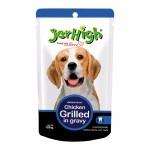 Jerhigh ชนิดเปียก รสเนื้อไก่ย่างในน้ำเกรวี่ 120 g