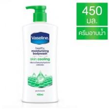 วาสลีน Vaseline ครีมอาบน้ำผสมสารบำรุงผิวจากวาสลีนโลชั่น สูตรกลิ่นเย็นสดชื่น 450มล.