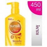 ซันซิล Sunsilk แชมพู สูตรผมนุ่มลื่น เรียบสวย 450มล.