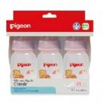 พีเจ้น Pigeon ขวดนม RPP ลายหมีโคโร 4 oz. แพ็ค 3 ขวด ไซส์S สำหรับ 0-3 เดือน