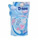 ดีนี่ D-nee ผลิตภัณฑ์ซักผ้าเด็ก ดีนี่ ไลฟ์ลี่ แอนตี้แบคทีเรีย ถุงเติม 600 มล.