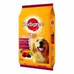Pedigree ชนิดเม็ด รสตับและผัก 10 kg สำหรับสุนัขโตเต็มวัย
