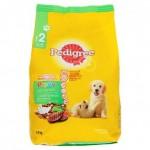 Pedigree เพดดิกรี อาหารลูกสุนัข 3-18 เดือน รสตับ ผักและนม 1.5กก.