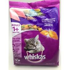 Whiskas ชนิดเม็ด รสปลาทู 480 g สูตรแมวโต