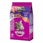 Whiskas ชนิดเม็ด รสปลาทู 1.2 kg สูตรแมวโต