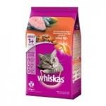Whiskas ชนิดเม็ด รสโกเม่ ซีฟู๊ด 480 g สูตรแมวโต