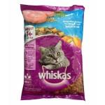 Whiskas ชนิดเม็ด รสปลาทะเล 400 g สูตรแมวโต