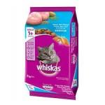 Whiskas ชนิดเม็ด รสปลาทะเล 7 kg สูตรแมวโต