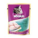 Whiskas ชนิดเปียก รสปลาทูน่า 85 g