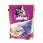 Whiskas ชนิดเปียก รสปลาทู 85 g