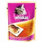 Whiskas ชนิดเปียก รสปลาซาบะย่าง 85 g