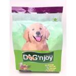 ด็อก เอ็นจอย Dog'n Joy ชนิดเม็ด สำหรับลูกสุนัข รสเนื้อตับอบนมเนย 500 กรัม