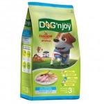 ด็อก เอ็นจอย Dog'n Joy ชนิดเม็ด สำหรับสุนัขโตพันธุ์เล็ก รสไก่และตับ 3 kg