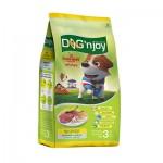 ด็อก เอ็นจอย Dog'n Joy ชนิดเม็ด สำหรับสุนัขโตพันธุ์เล็ก รสเนื้อและตับ 3 kg
