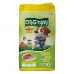 ด็อก เอ็นจอย Dog'n Joy ชนิดเม็ด สำหรับสุนัขโตพันธุ์เล็ก รสเนื้อและตับ 10 kg