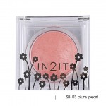In2It Sheer shimmer blush SB 03 plum pearl
