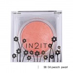 In2It Sheer shimmer blush SB 04 peach pearl