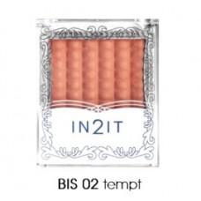 In2It Waterproof single blush BIS 02 tempt