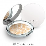 In2It UV Snow Bright Face Powder SBP01 nude marble