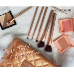 LIFEFORD PARIS Makeup Brush with Clutch - Rose Gold Collection