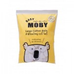 เบบี้ โมบี้ Baby Moby สำลีก้อนใหญ่ 100 กรัม