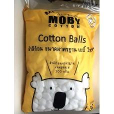 เบบี้ โมบี้ Baby Moby สำลีก้อนขนาดมาตรฐาน 300 กรัม